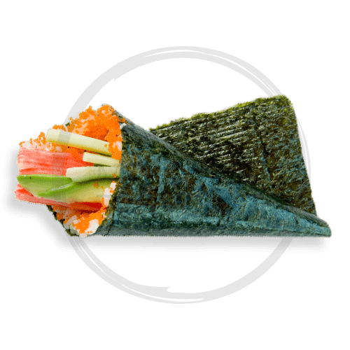 Foto California hand roll