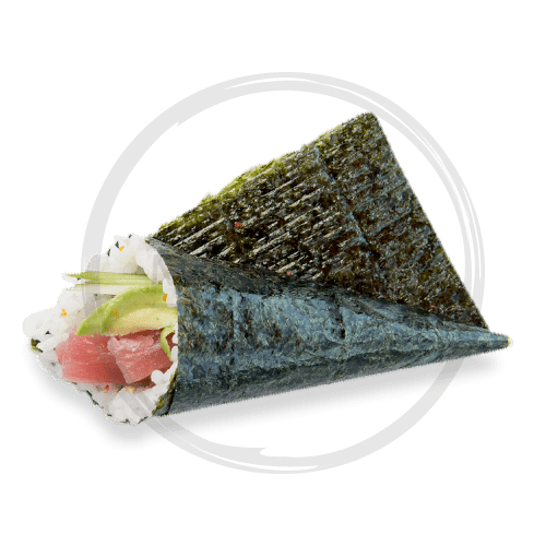 Foto Spicy maguro hand roll